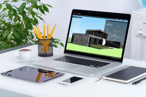 Website voor een architect