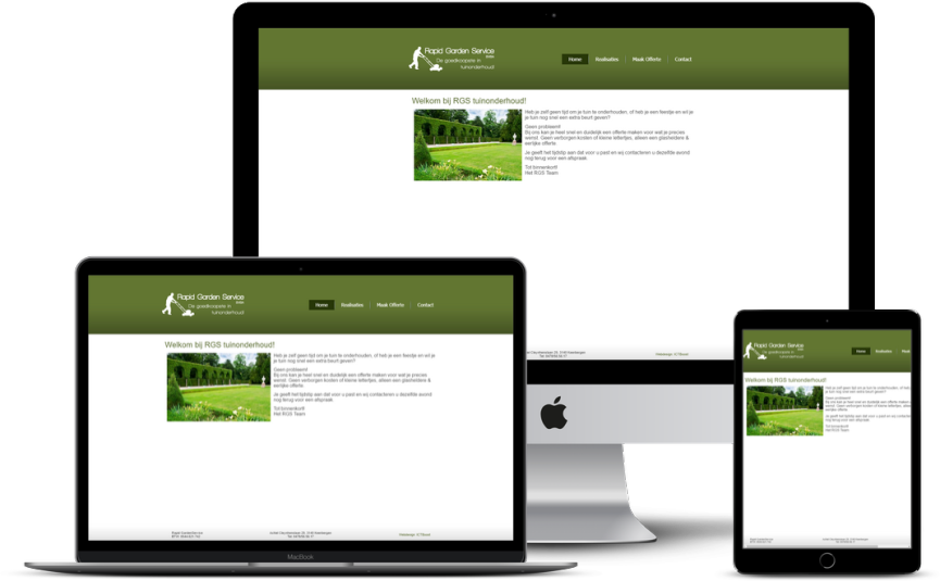 Website: Tuinwerken RGS