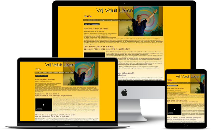 Website: Personal coach - Vrij Voluit Leven