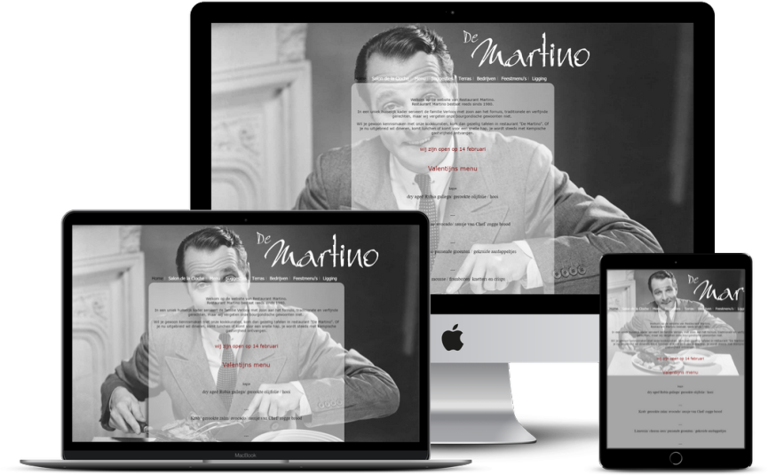Website: Restaurant - De Martino